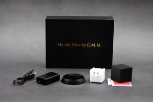 Mental Dice (Cube ) 2.0 - Wireless Charging Magic Tricks Magician Close Up Illusions Gimmick Prop Metalism Soul Prediction Magia(China)
