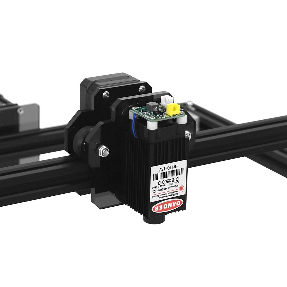Image 4 - Mini laserowa maszyna grawerująca 2 osi czarny kolor srebrny 30*40cm 2500MW DIY grawer pulpit frezarka do drewna/drukarka + gogle laseroweDrukarki 3D   -