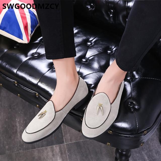 $ US $12.63 Wedding Shoes For Men 2020 Loafers Business Shoes Men Oxford Suit Shoes Black Mocassin Homme Zapatos De Hombre De Vestir Formal