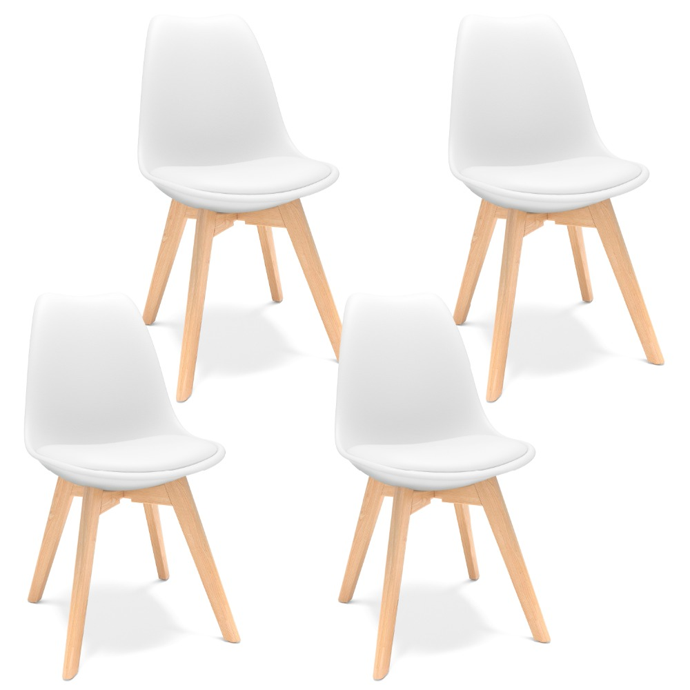 主图1-郁金香餐椅-白色