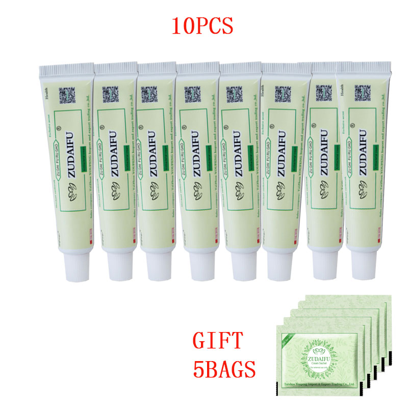 10pCS Dropshipping Zudaifu Skin Psoriasis Cream Dermatitis Eczematoid Eczema Ointment Treatment Psoriasis Cream Skin Care Cre-in Patches from Beauty & Health