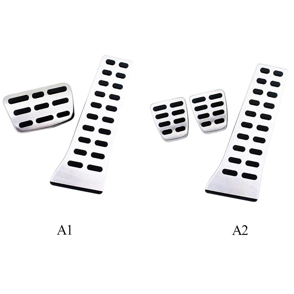 Stainless Steel Car Pedals Cover Set For KIA K5//K7//Sportage R//Sorento MT