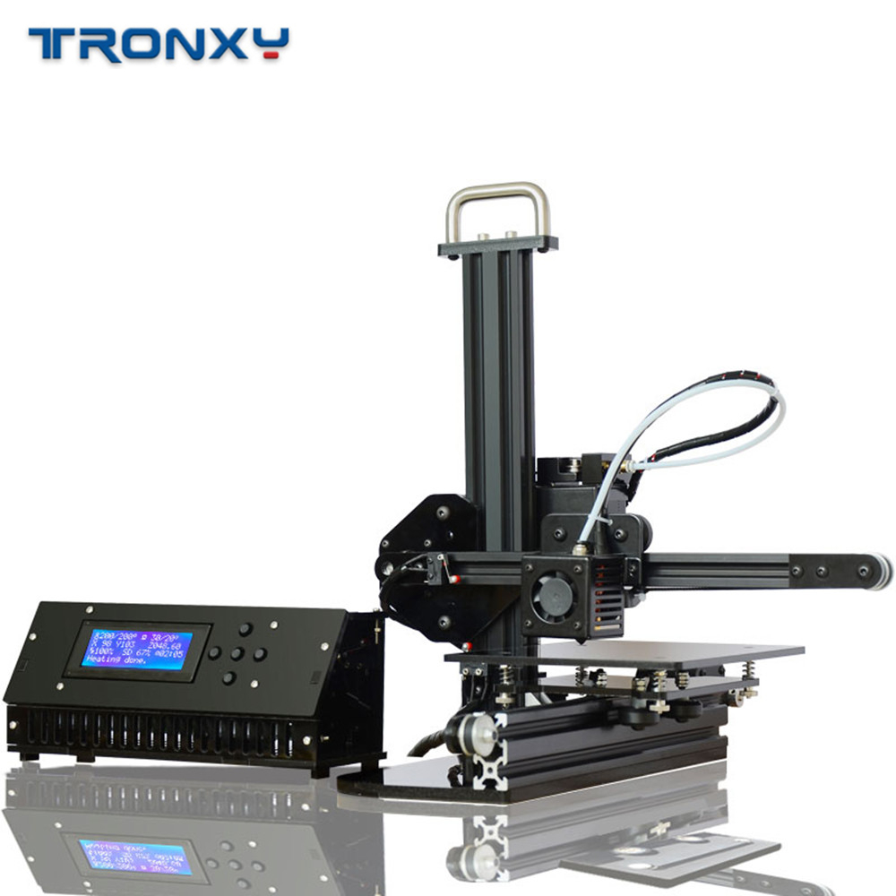 Tronxy 3D Printer X1 Pulley Linear Guide Support SD Card Printing LCD Display High Precision 0.1-0.4mm Off-line imprimante 3d 1