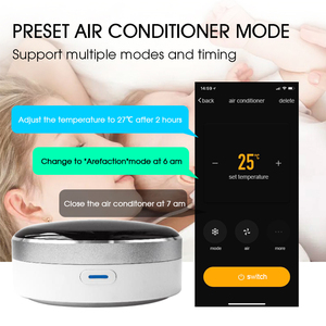 Image 4 - Vie intelligente télécommande intelligente universelle WIFI + commutateur IR automatisation climatiseur domestique TV Google Assistant Alexa Siri