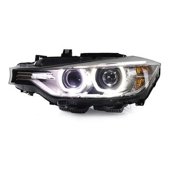 Car accessories for BMW 316i 320i 328 335 F30 F35 Headlights 2013-2015 Head Lamp DRL Lens Double Beam H7 HID Xenon bi xenon lens