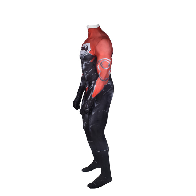 Superman Godfall Costume Superhero Suit Superboy Cosplay Suit Halloween SUPERMAN Zentai Bodysuit Adults Kids