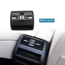 цена на For BMW 5 Series F10 F18 Air Conditioning Vent Outlet Rear Center Console Fresh Air Outlet Vent Grille Cover Auto Accessories
