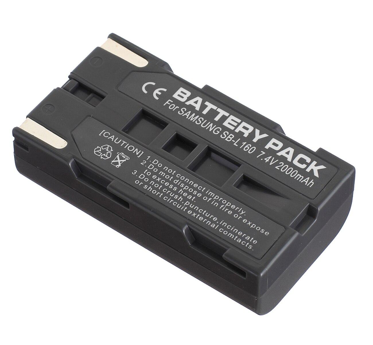 VP-L770 Digital Video Camcorder VP-L700U VP-L750D VP-L750 Battery Pack Charger for Samsung VP-L700 VP-L710