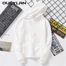 Oulylan Women Hoodies Autumn Loose Sweatshirt