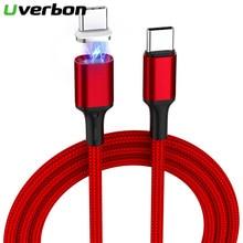 5А 100 Вт, быстрая зарядка, кабель Type C для Samsung, 1,8 м, магнитный кабель Type C Type C для Huawei p20