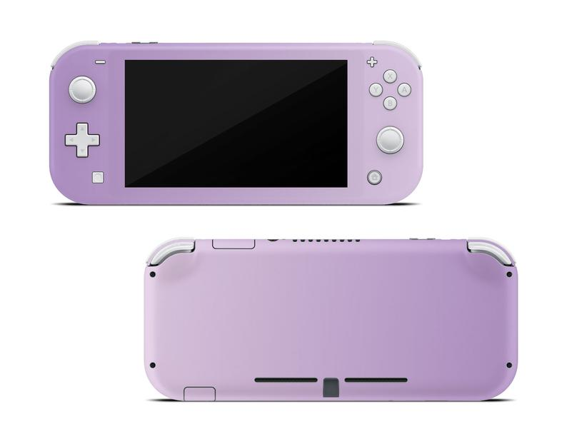 Cute Pattern Gradient Color Pastel Skin For Nintend Switch Lite Made With 3M Premium Vinyl For Switch Lite Skin Sticker