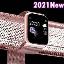 Женские умные часы с фитнес-трекером, умные часы Fitbit, шагомер, монитор пульса, артериального давления для Apple IPhone Xiaomi