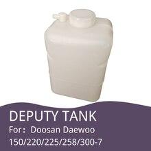 Doosan Daewoo pelle 150/220/225/258/300 7, réservoir deau, électrifié, petite bouilloire, accessoires de pelle
