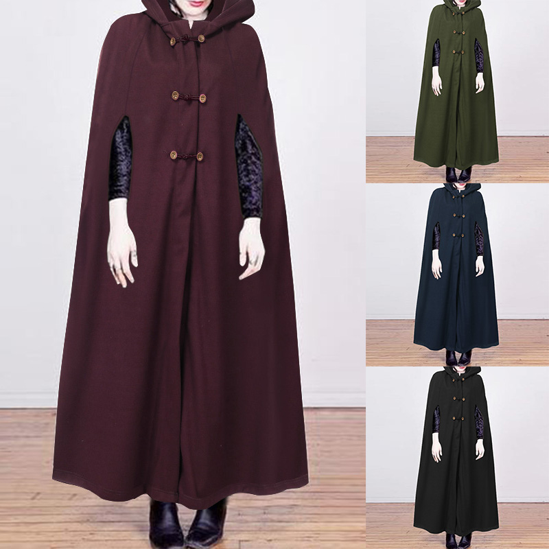 BRAND NEW LADIES WRAP OVER 3 BUTTONS PONCHO CARDIGAN CAPE NAVY