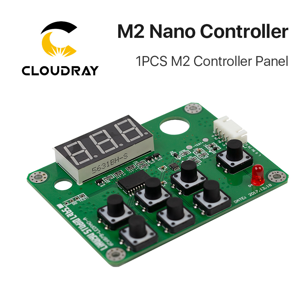 Image 3 - Cloudray LIHUIYU M2 Nano Laser Controller Mother Main Board + Control Panel + Dongle B System Engraver Cutter DIY 3020 3040 K40-in CNC Controller from Tools