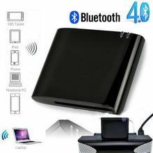 цены New Mini Bluetooth 4.1+EDR Receiver A2DP & AVRCP Music Class 2 30-Pin Dock Connector For IPad IPod IPhone Apple Speaker