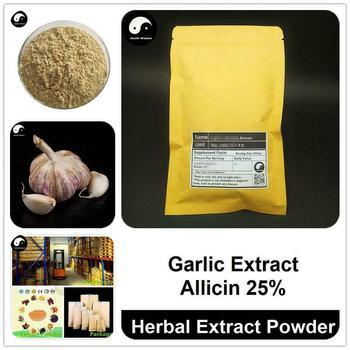Extracto de ajo en polvo, Allium Sativum P. E., Alicina 25%, garlicina