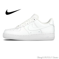 Original Authentischen Nike AIR FORCE 1 AF1 männer Skateboard Schuhe Outdoor Fashion Klassische Sport Schuhe Atmungsaktiv 315122-111