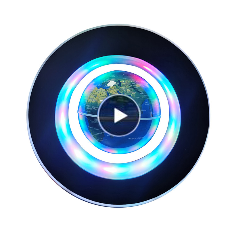 1 Pcs Magnetic Levitation Globe Student School Teaching Equipment Night Light Globe Creative Gifts 110/220V AC European Power