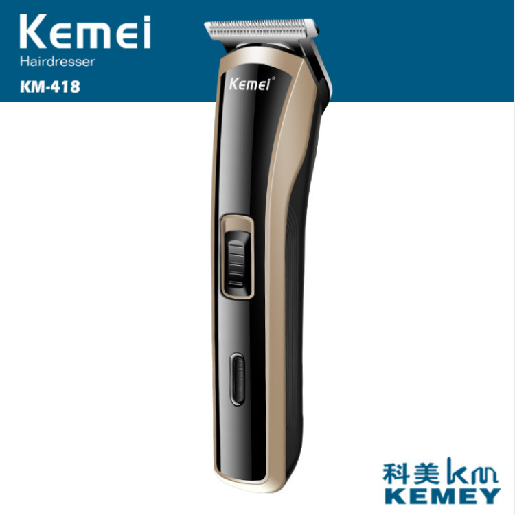 Kemei Hair Clipper KM-418 Hair Clippers, Razor, Small Hair Scissors With Limit Comb