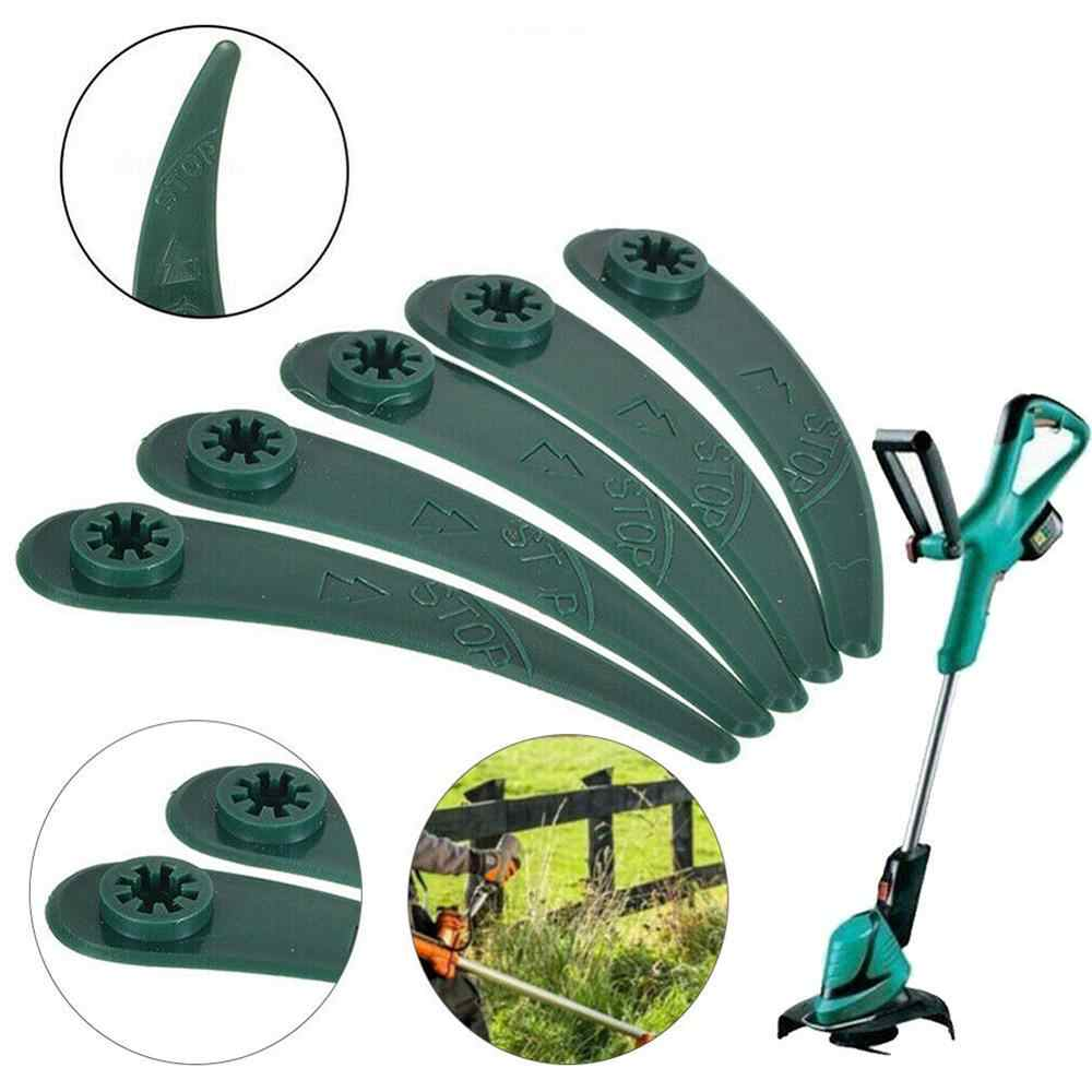 50 ABS Plastic Lawn Mower Trimmer Blades For Bosch ART26-18LI Strimmer Gardening