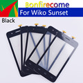 10Pcs \ lot 4.0 Touchscreen Voor Wiko Zonsondergang Touch Screen Panel Sensor Digitizer Glas GEEN LCD Vervangende Onderdelen