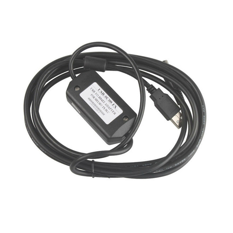 Programming PLC Cable for USB-SC09-FX MELSEC FX Win10//8//7 vista USB to RS422