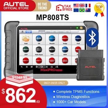 Autel MaxiPRO MP808TS OBDII Car Automotive Diagnostic Tool OBD2 Scanner OBD 2 Code Reader TPMS Functions PK AP200 MK808 MK808TS