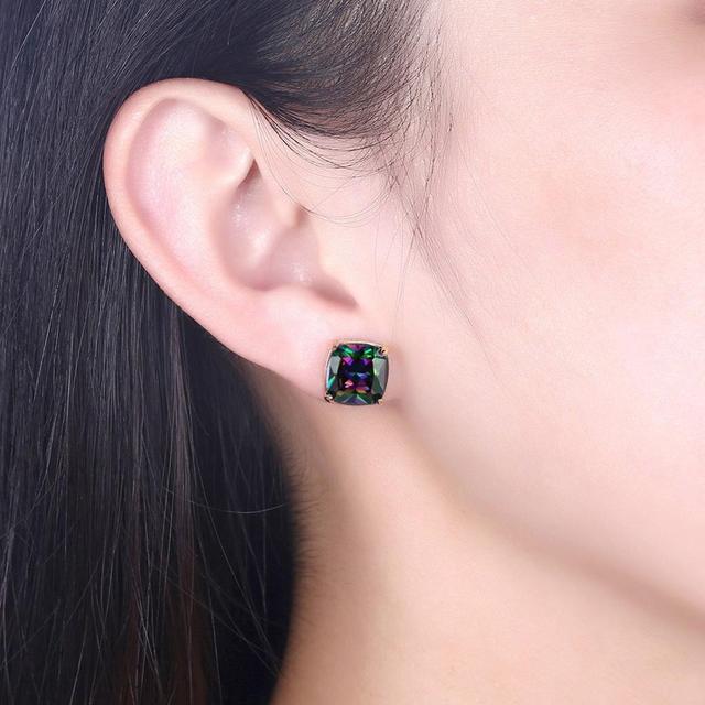 Woman Earrings Sterling Silver 925 Cubic Zirconia Earrings