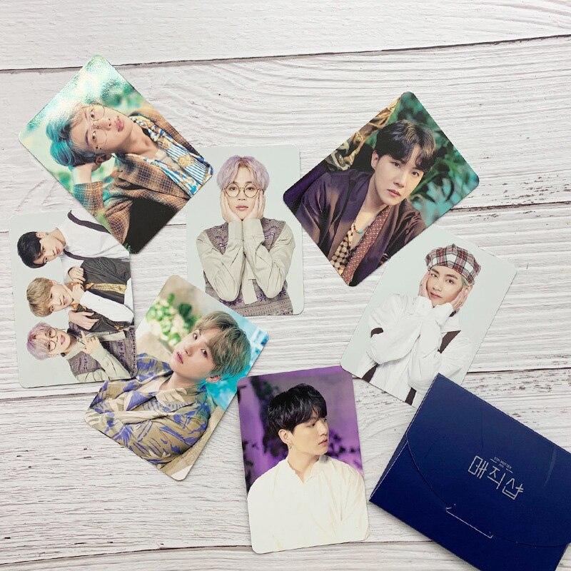 8pcs/set Fashion Kpop Bangtan Boys Photocard 5th MUSTER FESTA Concert Album HD Kpop Bangtan Boys Photo Card Fans Collections