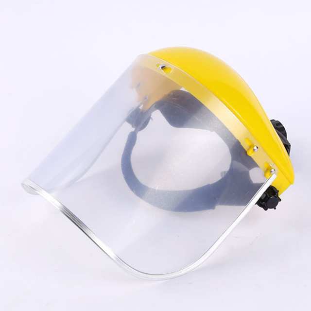 Safety Anti-Splash Face Shield Grinding Solder Weldor Head Protector Cap Cover Head Face Anti-Saliva Dustproof Mask Protection 5