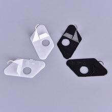 1 pc nova seta resto arco recurvo plástico mão direita & esquerda preto e branco cor caça acessórios