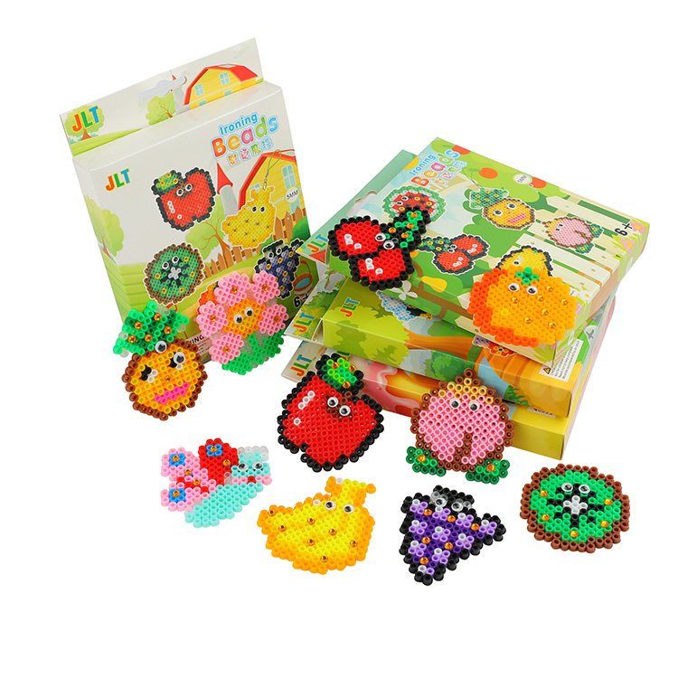 Non-toxic DIY Plastic Hama Perler Beads Kids Kits Toys Ironing Beads For Children Crafts For Kids