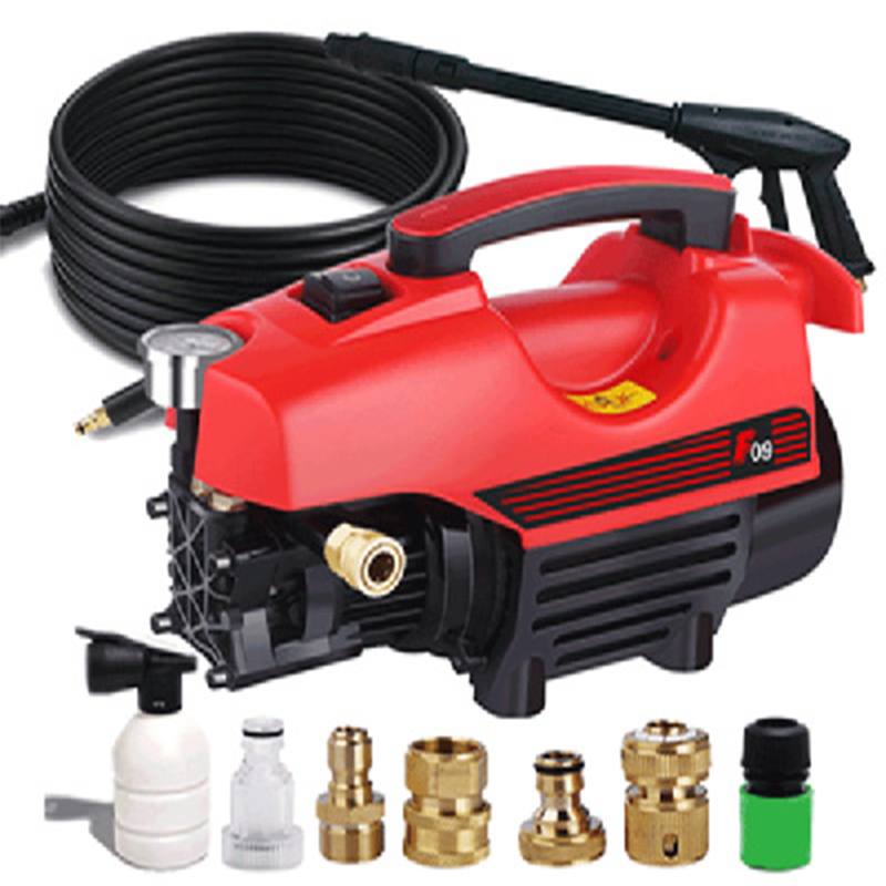 High Pressure Car Washer Household Car Washer Portable Washing Machine Electric High Pressure Rinse Car Wash Tool Cleaning Tools