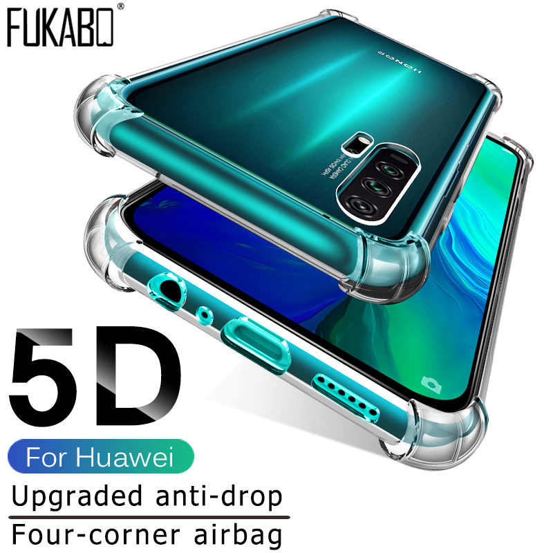 Soft TPU Shockproof Case For Huawei P20 Lite P30 Pro P Smart 2019 Protective Case For Huawei Mate 20 10 Pro P10 Lite Nova 3 3i