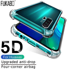 Soft TPU Shockproof Case For Huawei P20 Lite P30 Pro P Smart 2019 Protective Case For Huawei Mate 20 10 Pro P10 Lite Nova 3 3i(China)