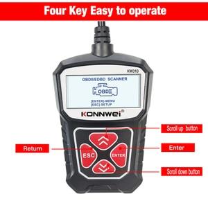 Image 3 - KONNWEI KW310 Obd2 أدوات تشخيص السيارات السيارات الماسح الضوئي OBD 2 محرك محلل رمز قارئ السيارة يمكن Obdii أداة مسح ضوئي تستر