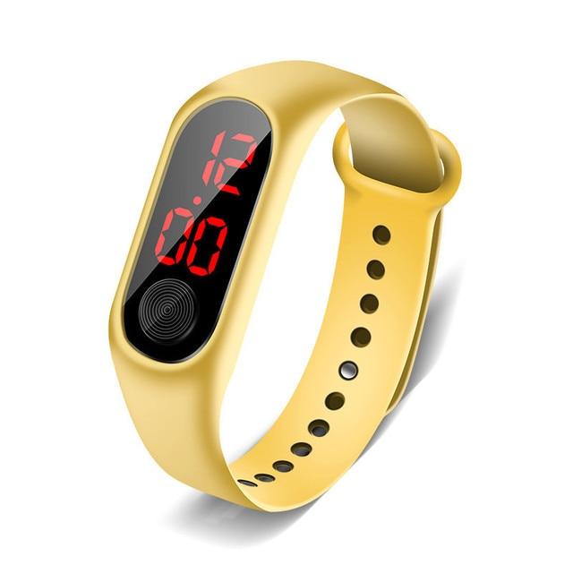 Digital Sports Strap WristWatch Unisex