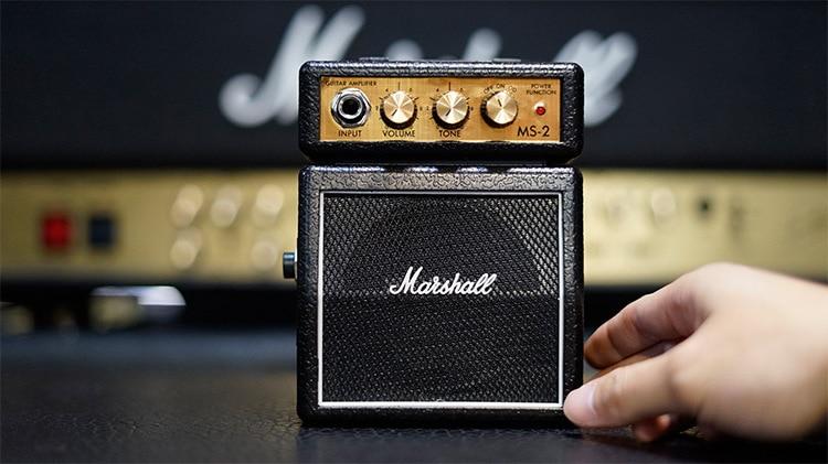Accessoire instrument haut-parleur petite main portable Mini amplificateur de guitare Marshall MS2