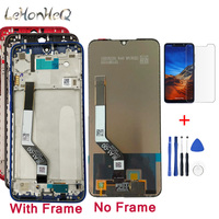 10 point touch LCD With Frame For Xiaomi Redmi Note 7 LCD Display Touch screen Digitizer Assembly For Redmi Note7 pro screen