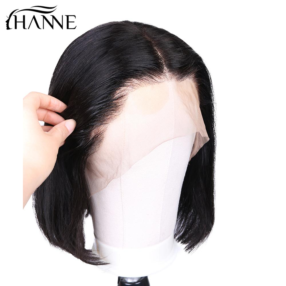 HANNE Full Lace Human Hair Wigs For Black Women Wig Human Hair Pre Plucked Brazilian Straight Wig Remy Wig Full Lace Wig