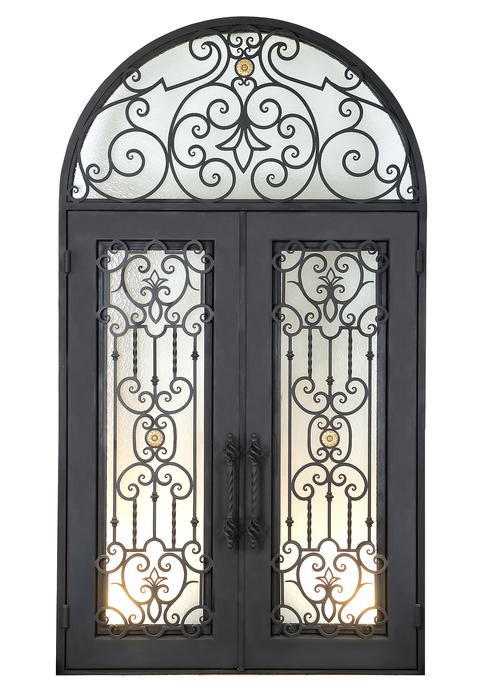 Shanghai Hench Brand China Factory 100% Custom Made Sale Australia Iron Security Gates For Homes
