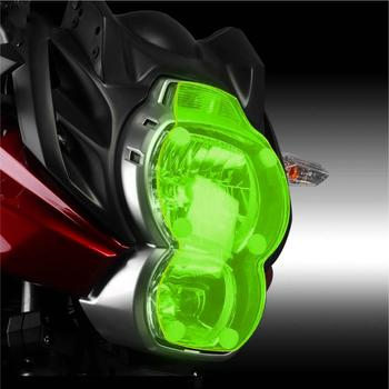 For Versys 650 2010 2011 2012 2013 2014 Motorcycle Headlight Protection Cover Acrylic lens