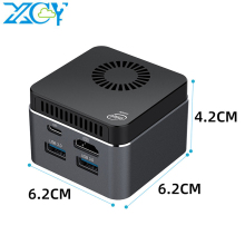 Mini PC Wifi Intel Celeron N4100 XCY Windows-10 LPDDR4 Quad-Core 8GB 60hz SSD USB-C Bluetooth