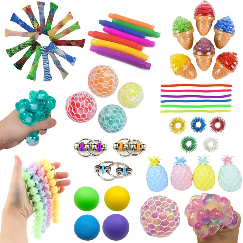 14/15/16pcs Sensory Toy Set Anti Stress Toy Sets Relief Stress Sensory Anxiety Stress