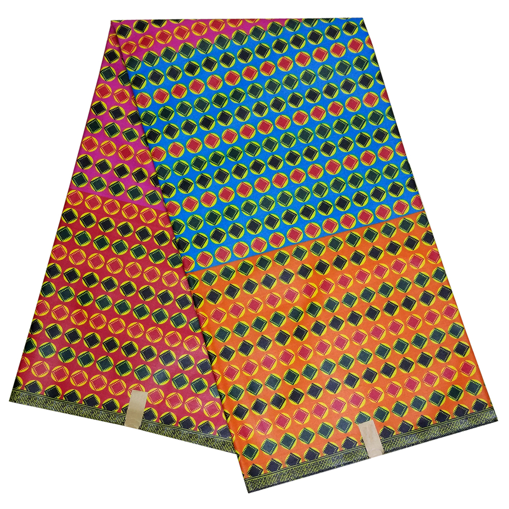 High Quality African Printed Cloth Fashion Design African Wax Fabric For Party Dress Wax