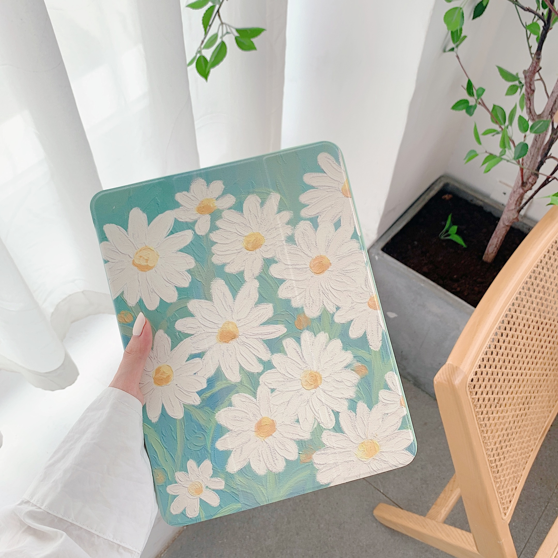 Daisy Flower  Case For Ipad Pro 2020 Air 3 Back Cover 1