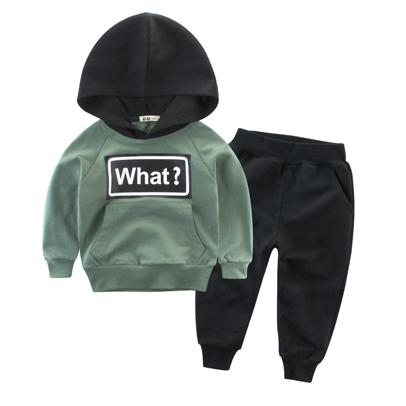 Clothing Sets Children Boys Girls Fashion Clothes Kids Toddler Tracksuit Autumn Baby Hoodies  And Pants  Suits Sport 1