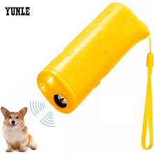 Training-Device Repeller Pet-Dog Anti-Barking-Stop Ultrasonic Without LED 3-In-1 Battery