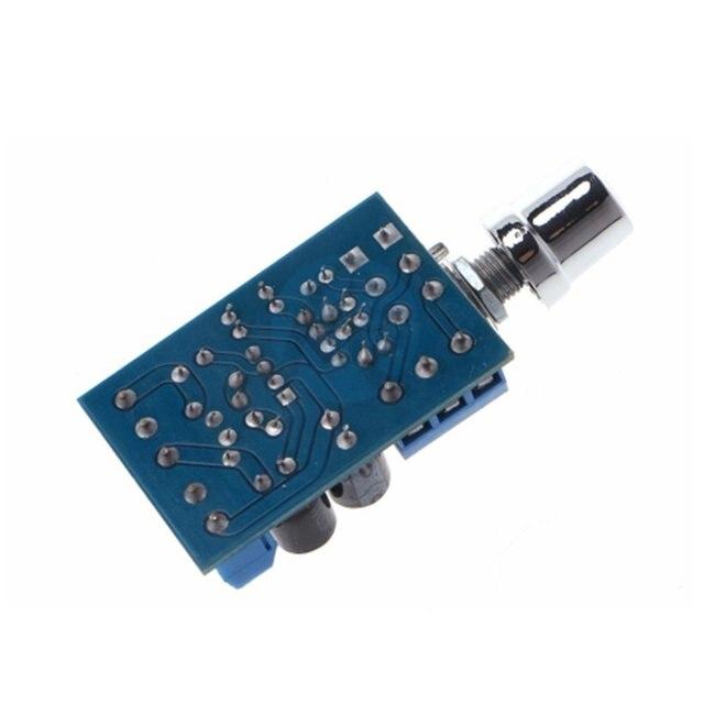 حجم صغير تيار مستمر 1.8-12 فولت TDA2822M 2.0 قناة ستيريو صغيرة AUX مضخم الصوت لوحة تركيبية أمبير وحدة أجزاء 3
